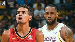 Atlanta Hawks vs Los Angeles Lakers - Full Game Highlights | November 17, 2019 | 2019-20 NBA Season Video