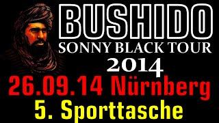 BUSHIDO LIVE SONNY BLACK TOUR 2014 - 26.09.2014 Nürnberg - 5. Sporttasche