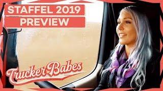 Sabrina muss umdenken: Ihre erste Fahrt in einem Rechtslenker | PREVIEW | Trucker Babes | kabel eins