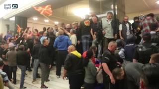مصر العربية    محتجون يقتحمون البرلمان المقدوني إثر انتخاب سياسي من أصل ألباني رئيسا له