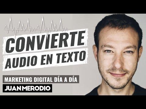 2 HERRAMIENTAS GRATIS PARA CONVERTIR AUDIO EN TEXTO