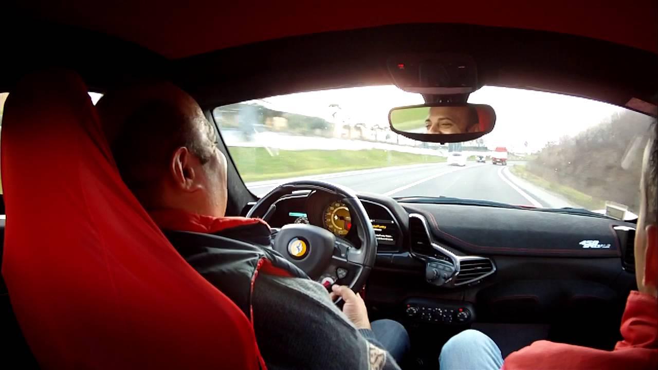 ferrari 458 speciale giro per maranello - youtube