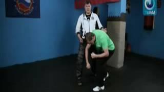 Боевое САМБО против Боксёра (Удары руками)