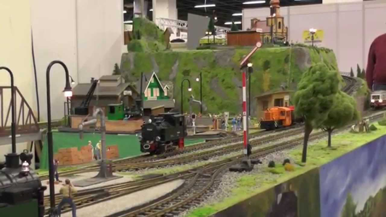 Lgb Model Railway Layout In Cologne Exhibition 2014 Youtube