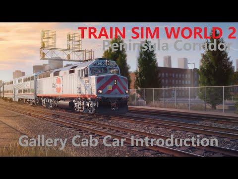 Train Sim World 2 Gallery Cab Car Introduction Peninsula Corridor |