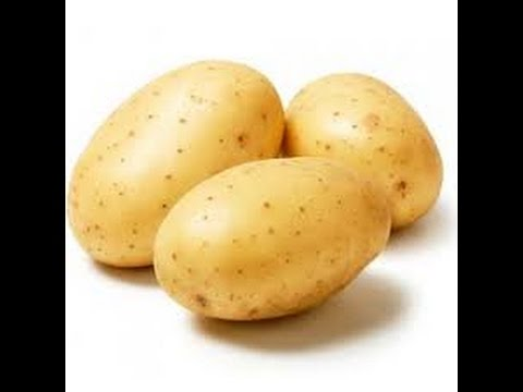Походная самодельная свеча из картофеля