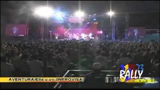 concierto de aventura en ecuador , ella y yo HD  djrally73.wmv