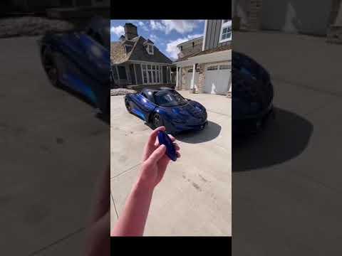 No 3 1050HP Blue McLaren Speedtail Slay Lifestyle