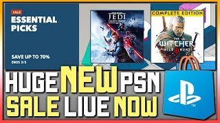 AWESOME NEW PSN SALE LIVE RIGH…