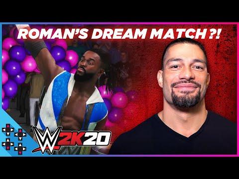 WWE 2K20: ROMAN REIGNS' Dream Match Vs. Kofi Kingston