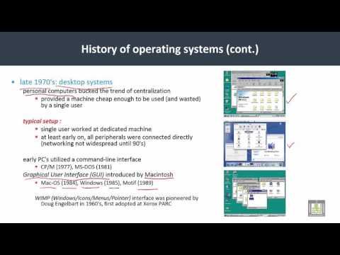 Operating Systems | C1-L8 | History of OS  - 4