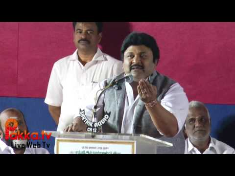 Actor Prabhu Emotional Speech at MGR 100th Birthday Centenary Celebrations!