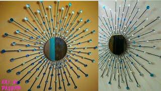 Diy Sunburst Mirror Diy Wall Hanging   How To Make Wall Hanging   Diy Wall Decor   Artmypassion