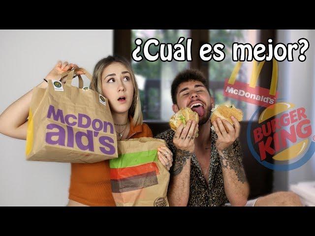 McDonald's VS Burger King... ¿CUÁL SABE MEJOR?   Hermanos Jaso