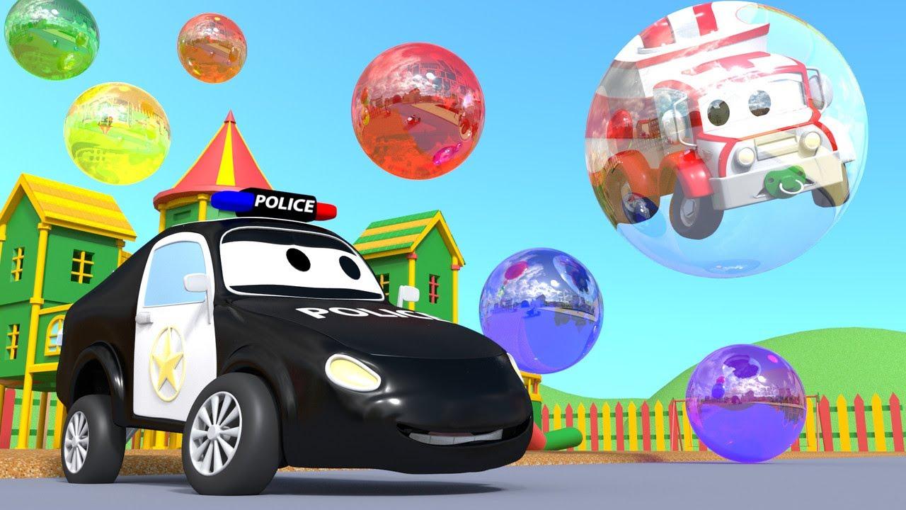 Patrula auto - Disparitia bulelor - Orasul Masinilor ? ? Desene pentru copii