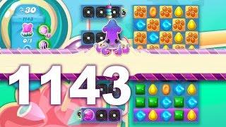 Candy Crush Soda Saga Level 1143 (3 stars, No boosters)