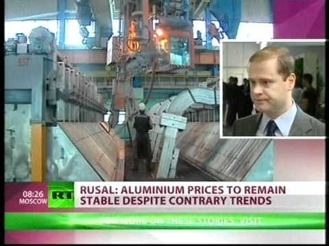 UC RUSAL Deputy CEO Vladislav Soloviev speaks on aluminium prices