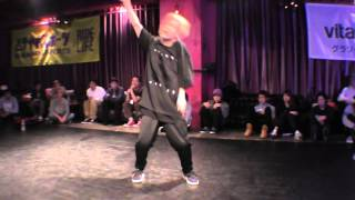 SHUHO (TOKYO FOOTWORKZ) vs KAZUKIYO(BOUNSTEP) FINAL / DANCE@LIVE 2016 HOUSE KANTO vol.3