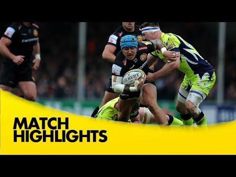 Exeter Chiefs v Sale Sharks - Aviva Premiership Rugby 2017-18