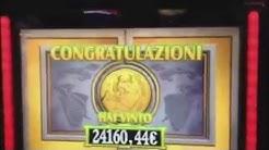 SUPER MEGA HUGE JACKPOT WIN Italian hits progressive live play slot machine novomatic