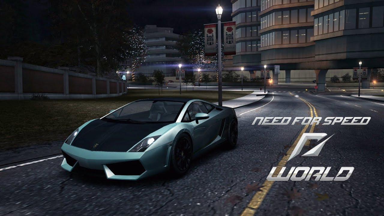 need for speed world pc gameplay lamborghini gallardo achievement edition sprint. Black Bedroom Furniture Sets. Home Design Ideas