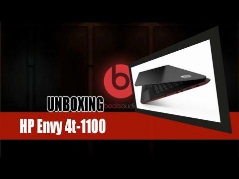 Unboxing HP Envy 4t-1100