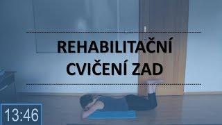 Rehabilitační cvičení zad | Zelená fazolka