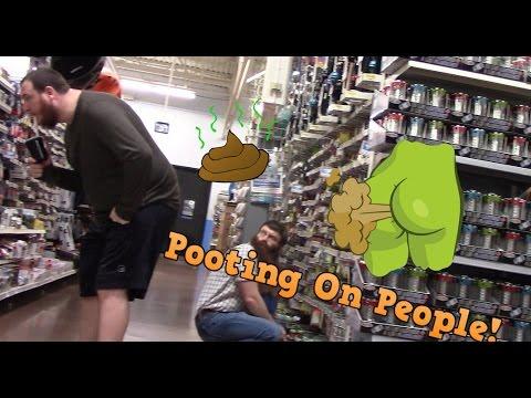 Funny WET Fart Prank!! Sharter EP 9!!! Fart Sounds funny video!! Guy gets mad