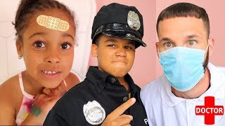Doctor Daddy and Police Kid Save Cali thumbnail