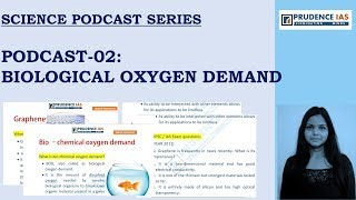 SCIENCE & TECH SERIES (PODCAST-002) BIOLOGICAL OXYGEN DEMAND