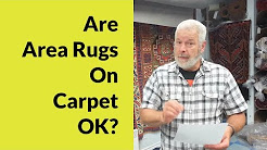 Are area rugs on carpet ok? | Luvarug - The rug cleaning experts in Victoria BC