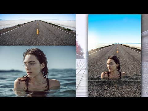 Photoshop Tutorial | Photo Manipulation | Blend Two images in Photoshop thumbnail
