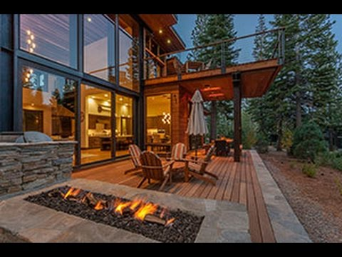 Mountain Modern Cabin by Greenwood Homes - YouTube