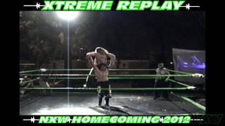 NXW HOMECOMING 2012 Vince Hardcore VS. Clint Karnage