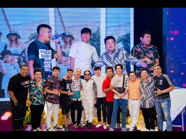 Đi sinh nhật thiếu gia Vũ Trí, Thái Vũ Faptv rap anh em diễn viên nghệ sĩ nhảy siêu vui.