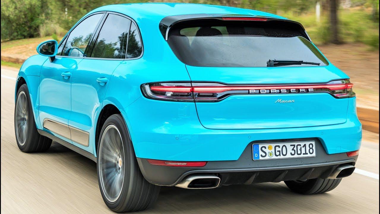 2019 Miami Blue Porsche Macan