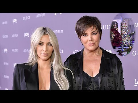 Download Youtube: Kris Jenner's Rainbow-Themed Christmas Decorations Are Her Best Yet!