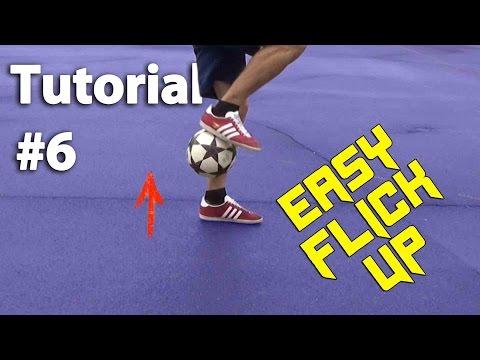 EASY FLICK UP TRICK! | Fußballtricks zum Nachmachen für Anfänger (deutsch)