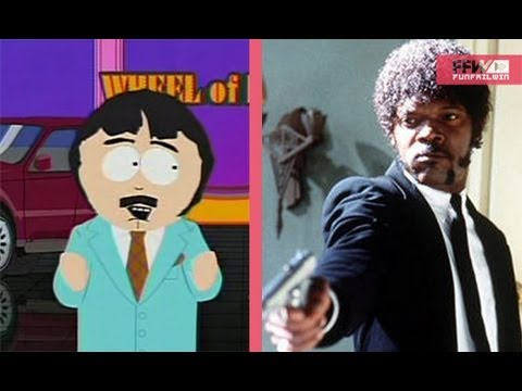 Randy Marsh vs Samuel L Jackson (N-Word) || FFW