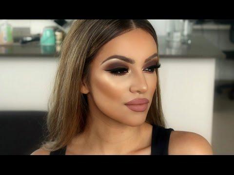 Makeover #1  Brown Smokey Eyes & Full Wispy Mink Lashes | Makeupwithjah