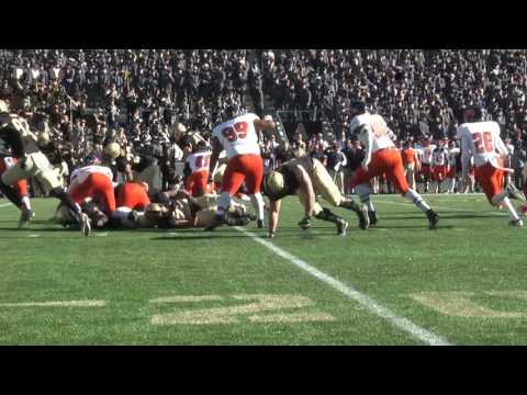 Army Football: Andy Davidson 23-Yard Touchdown Run vs. Morgan State 11-19-16
