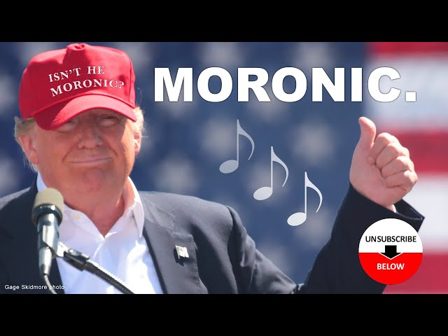 Moronic  - Donald Trump's Dumbest Moments and Stupidest Quotes -
