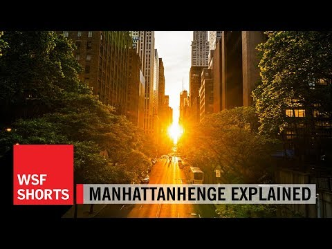 Brian Greene Explains Manhattanhenge