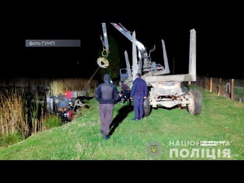 Чернівецький Промінь: На Буковині смертельна ДТП: водій на тракторі перекинувся у водойму
