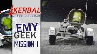 Kerbal Space Program - Mission 1, vol sub-orbital en mode Noob