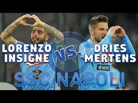 SSC Napoli SKILLS SHOW | Lorenzo Insigne vs. Dries Mertens