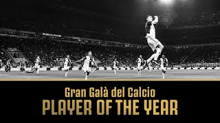 JUVENTUS' CRISTIANO RONALDO WINS PLAYER OF THE YEAR!