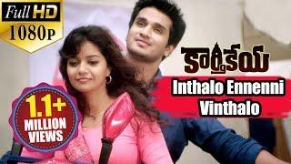 Karthikeya Songs    Inthalo Ennenni Vinthalo    Nikhil Siddharth, Swati Reddy