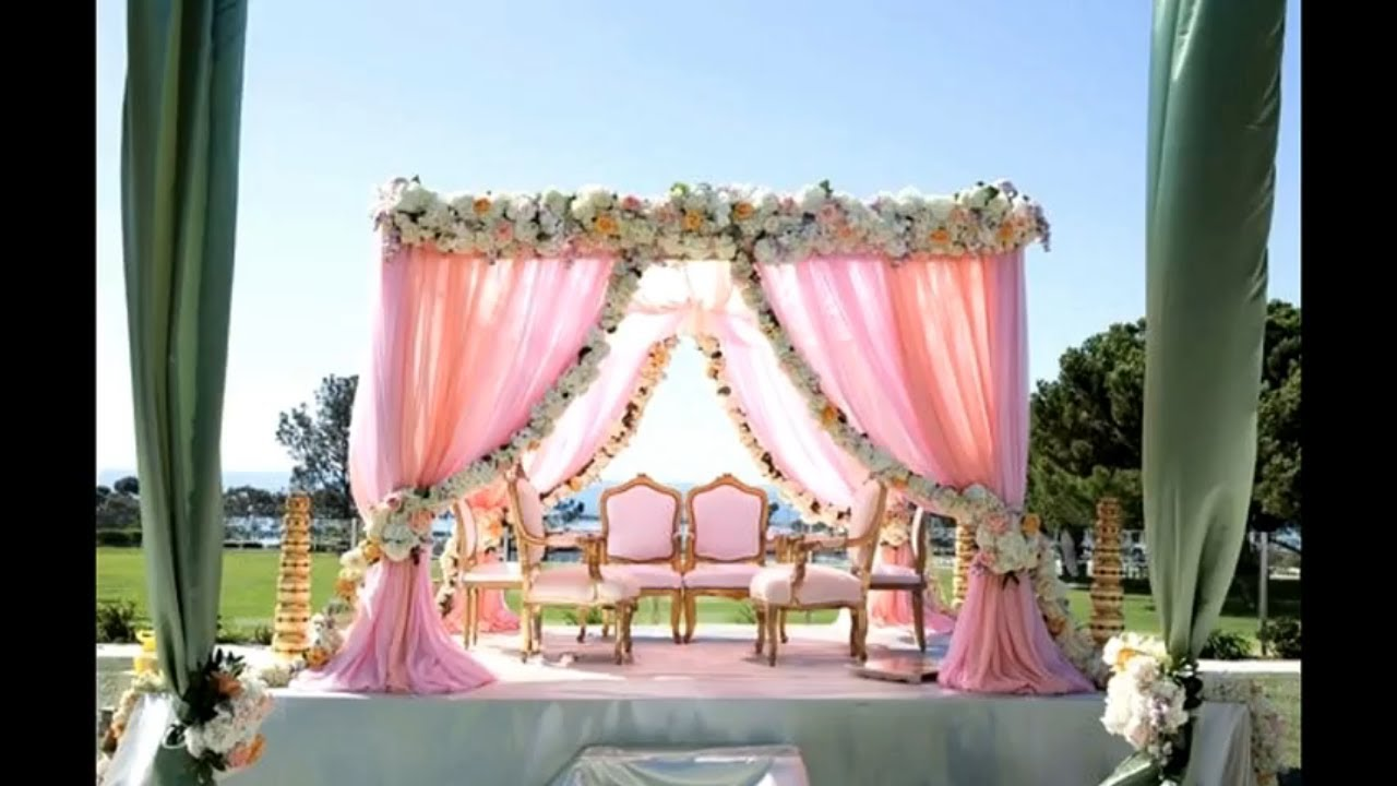 Best Mandap Decor Images Photos 2018 Wedding Mandap Decoration