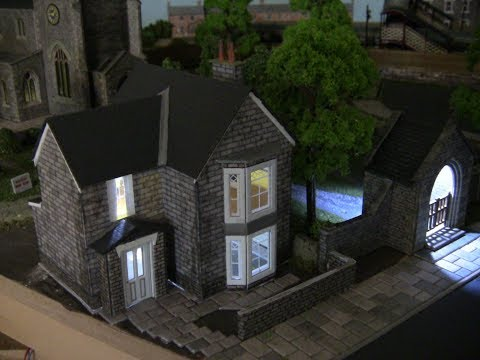 The Vicarage my first scratch built Building No 96